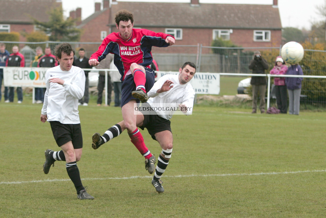 """Peterborough Sports FC Reserves v Doddington United FC Reserves (2008)"" stock image"