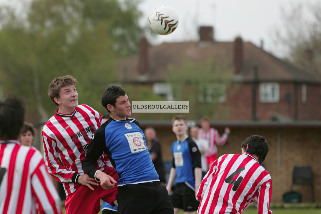 """PSV Juniors FC v Yaxley Juniors FC (2008)"" stock image"
