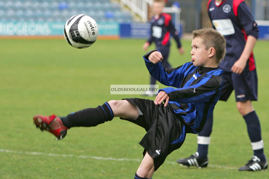"""Werrington Athletic FC v Northborough Juniors FC (2009)"" stock image"