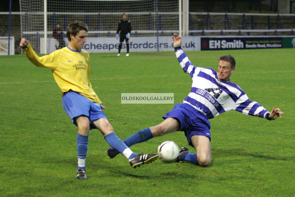 """Rutland Rangers FC v Moulton Harrox FC (2009)"" stock image"