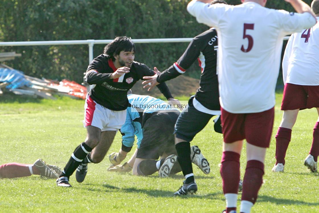 """""""AK Eleven FC v Fletton United FC (2009)"""" stock image"""