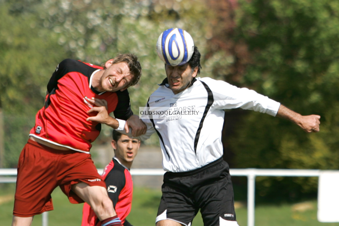 """""""Lord Westwood FC v Deeping Athletic FC (2009)"""" stock image"""