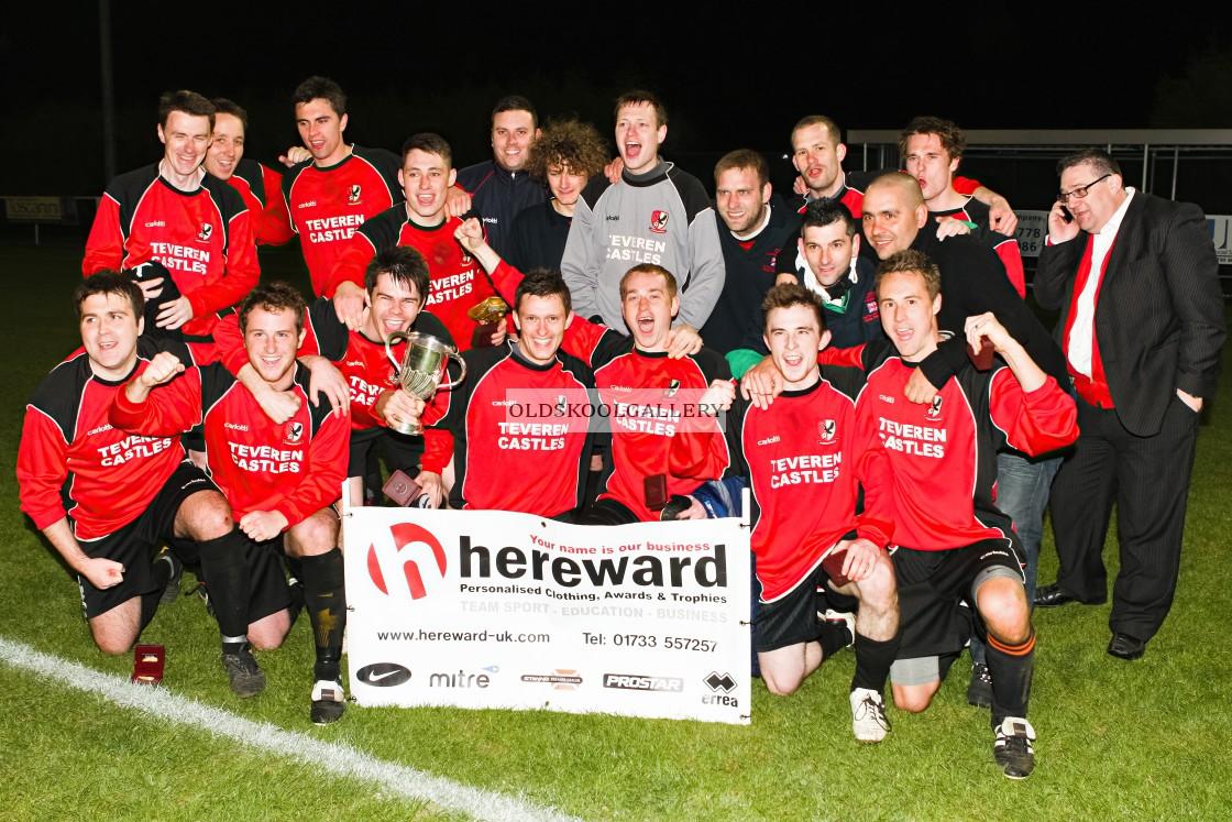 """""""Farcet Reserves FC v Wittering Harriers FC (2012)"""" stock image"""