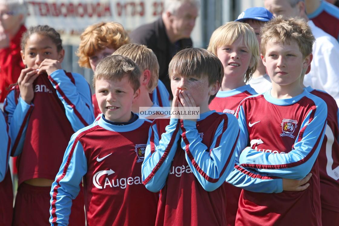 """Deeping Rangers U11s Blue FC v Glinton United U11s Red FC (2012)"" stock image"