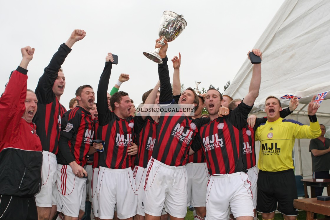 """""""Pinchbeck United FC (2012)"""" stock image"""