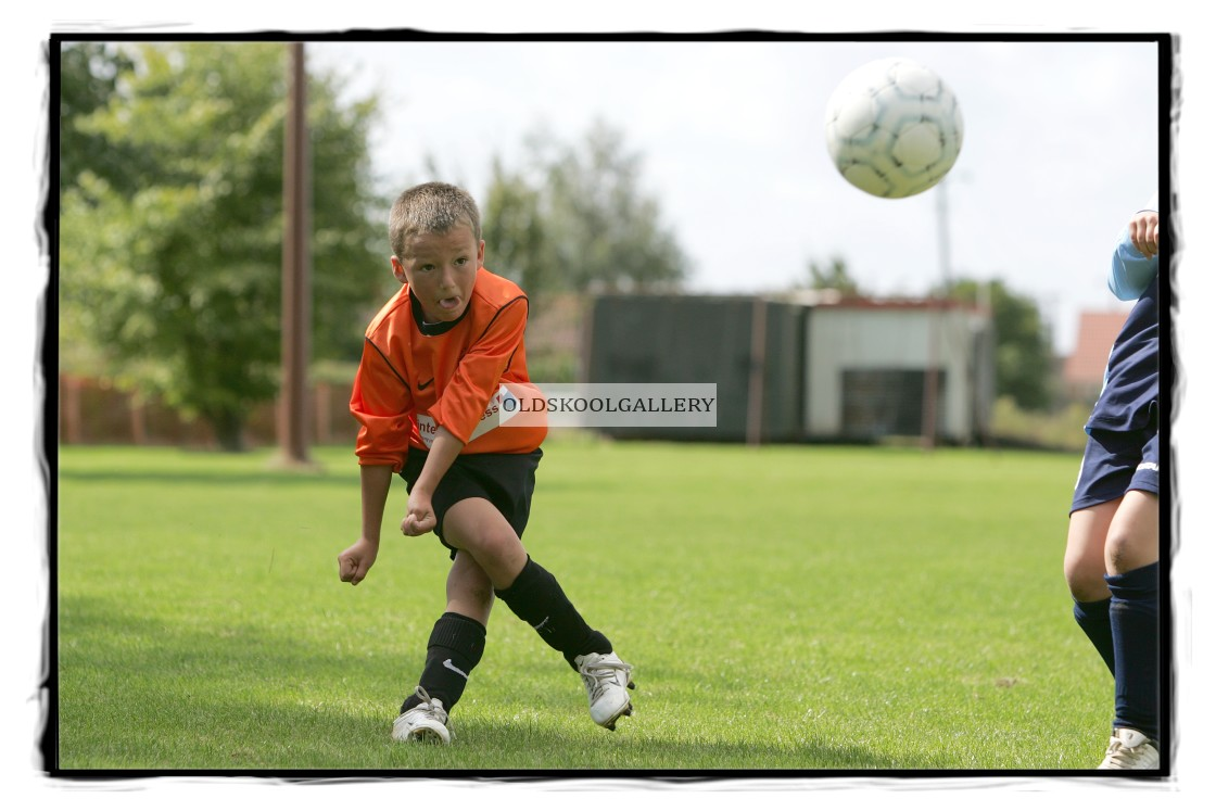 """Guyhirn U8s FC v Chatteris Town U8s FC (2006)"" stock image"