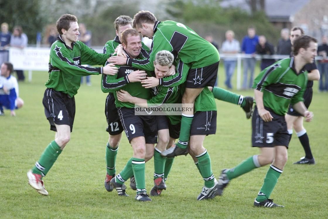 """Eye Sports & Social FC v Kings Cliffe United Reserves FC (2005)"" stock image"