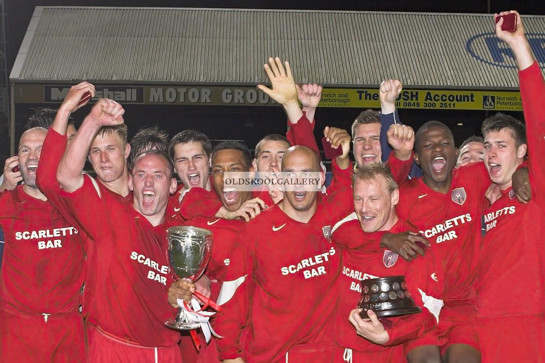 """Alconbury FC v Moulton Harrox FC (2007)"" stock image"