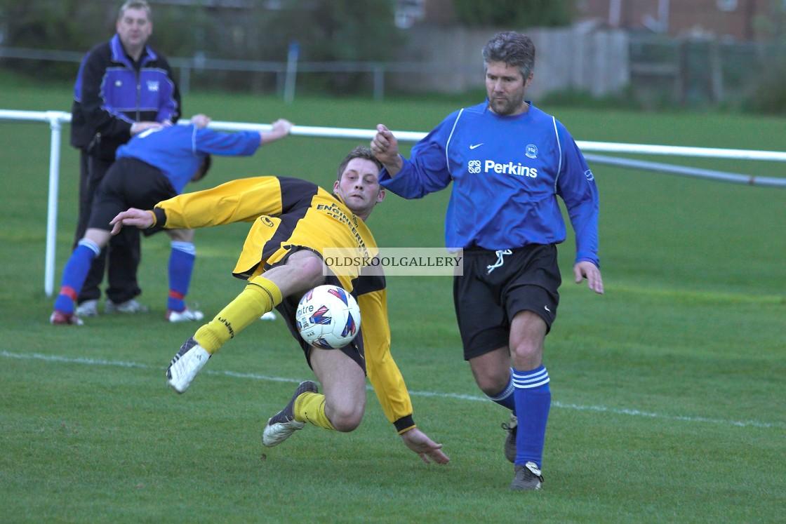 """Leverington Sports Reserves FC v Perkins Sports Reserves FC (2006)"" stock image"