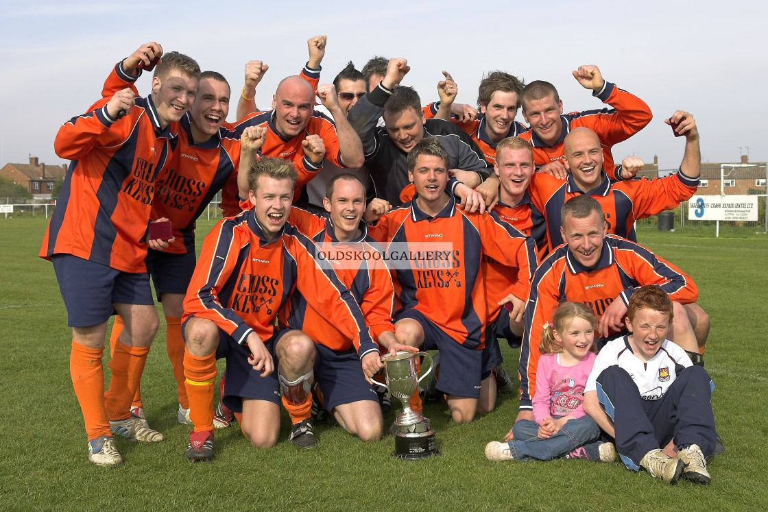 """""""Woodlands Reserves FC v Crowland Town Reserves FC (2006)"""" stock image"""