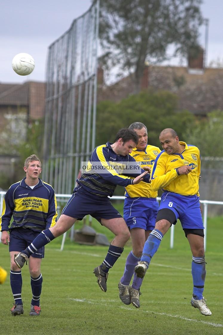 """AK Eleven FC v Bourne United FC (2006)"" stock image"