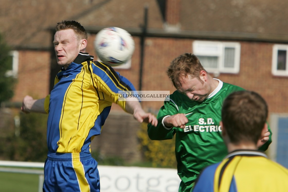 """""""The Shoes FC v Sawtry FC (2005)"""" stock image"""