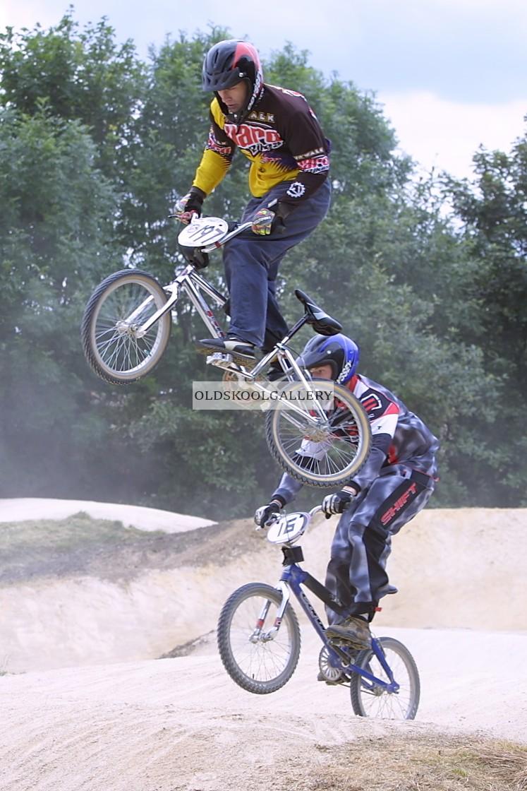 """""""BMX Racing (2002)"""" stock image"""