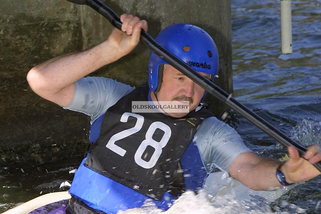 """""""Proteus Canoe Event (2002)"""" stock image"""