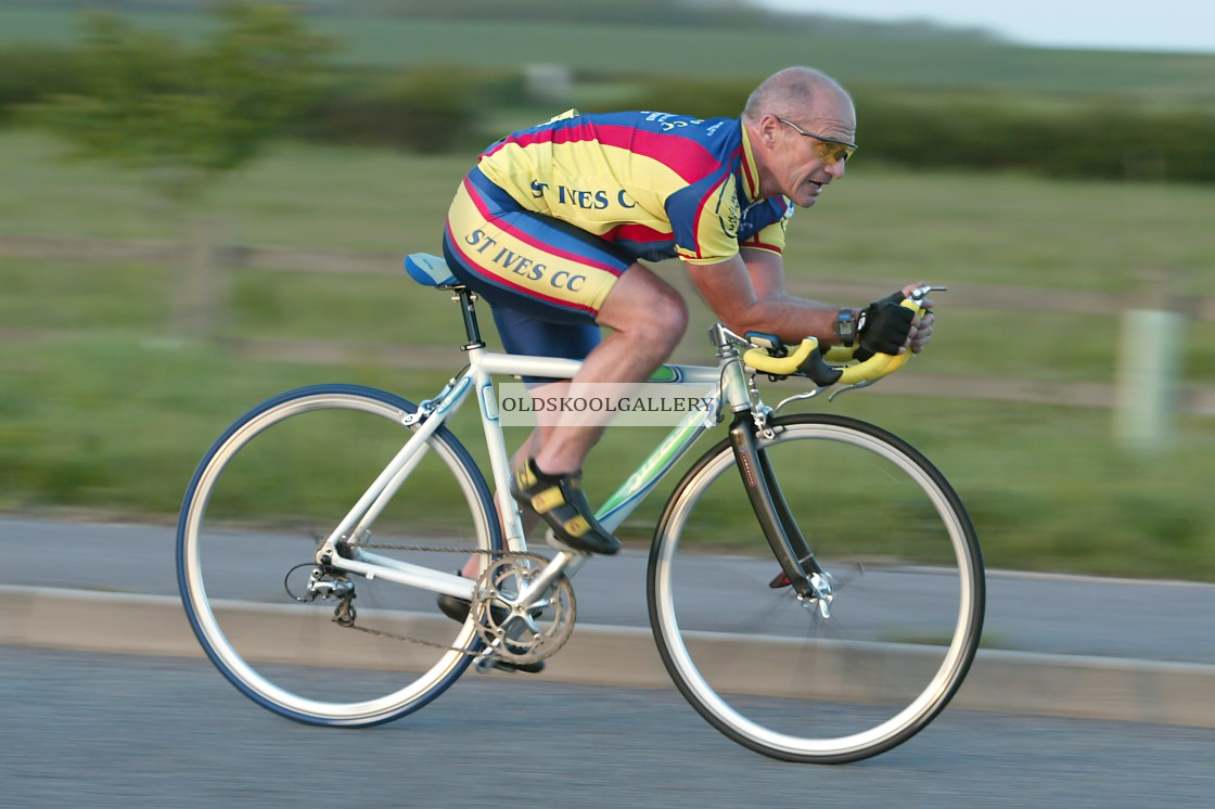 """""""Cycling - Time Trial (2003)"""" stock image"""