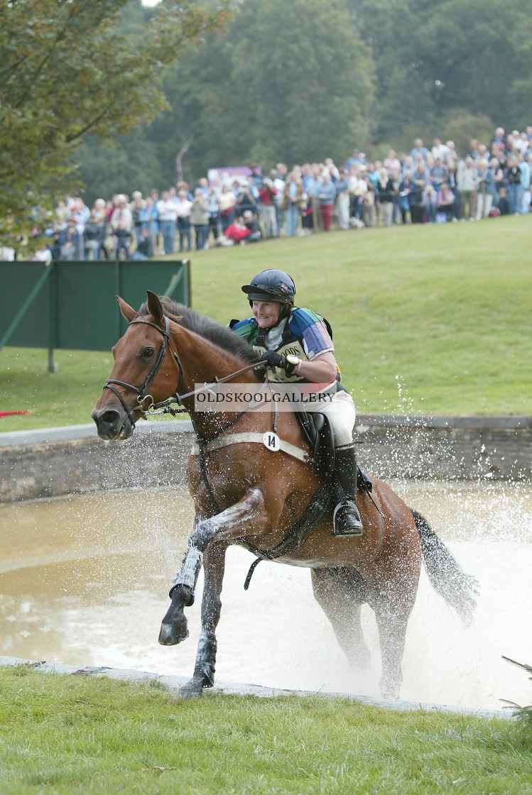 """""""Burghley Horse Trials (2003)"""" stock image"""