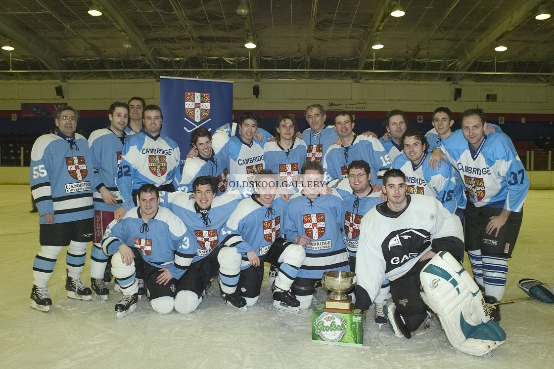 """Varsity Ice Hockey - Cambridge Eskimos (2005)"" stock image"