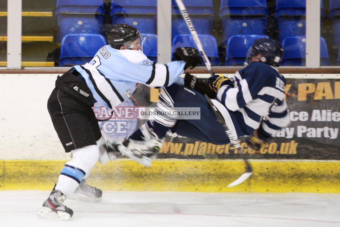 """Varsity Ice Hockey - Cambridge Men v Oxford Men (2013)"" stock image"