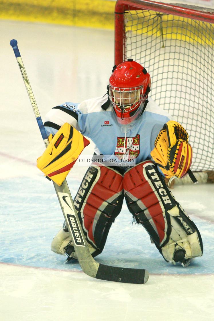 """Varsity Ice Hockey - Cambridge Women v Oxford Women (2013)"" stock image"