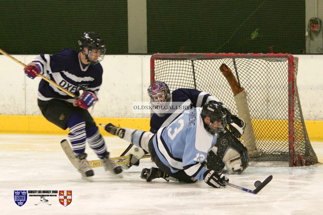 """Varsity Ice Hockey - Oxford Vikings v Cambridge Eskimos (2008)"" stock image"