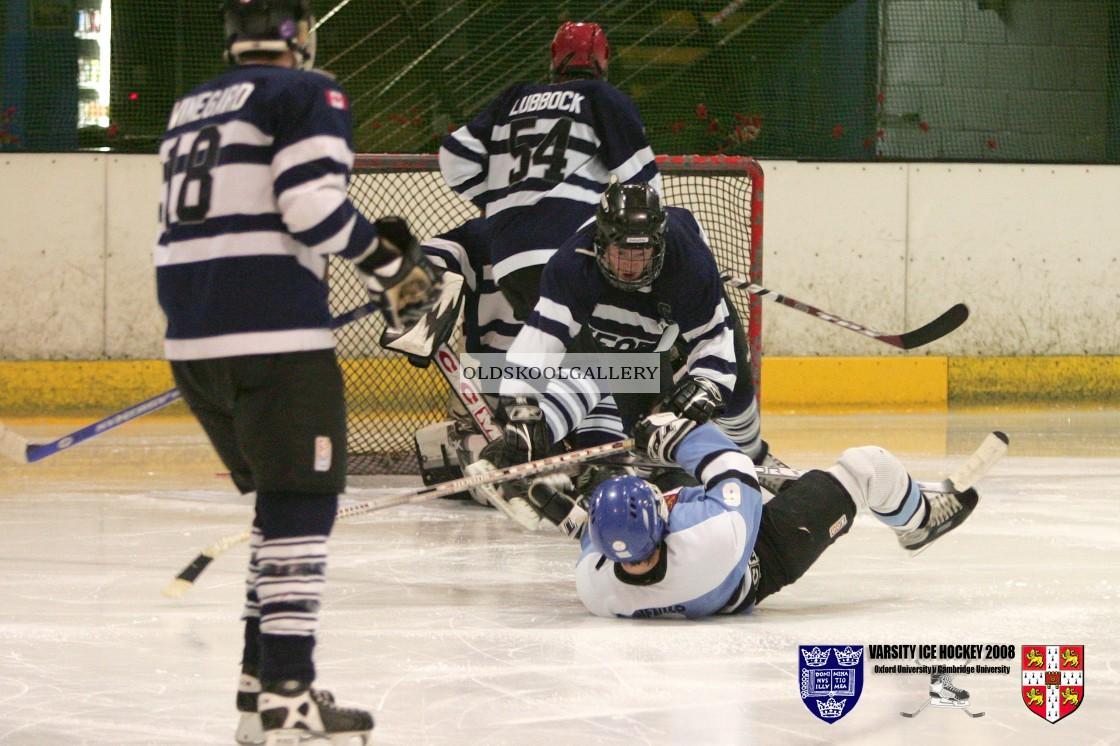 """Varsity Ice Hockey - Oxford Men v Cambridge Men (2008)"" stock image"