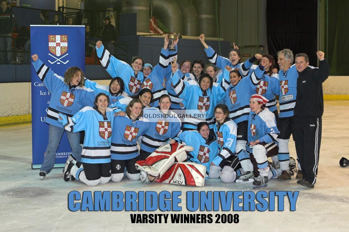 """Varsity Ice Hockey - Oxford Women v Cambridge Women (2008)"" stock image"