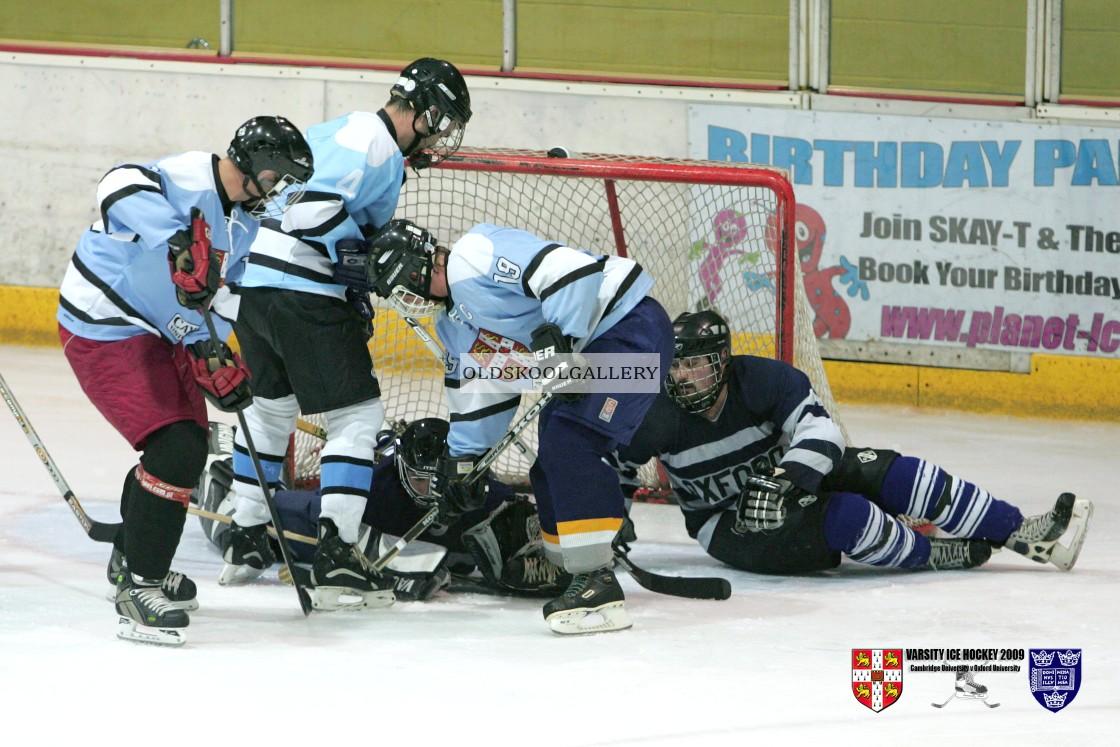 """Varsity Ice Hockey - Cambridge Eskimos v Oxford Vikings (2009)"" stock image"