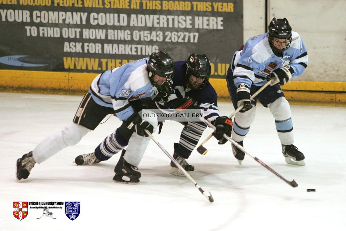 """Varsity Ice Hockey - Cambridge Men v Oxford Men (2009)"" stock image"