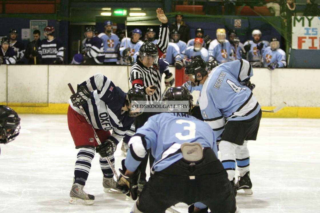 """Varsity Ice Hockey - Oxford Vikings v Cambridge Eskimos (2010)"" stock image"