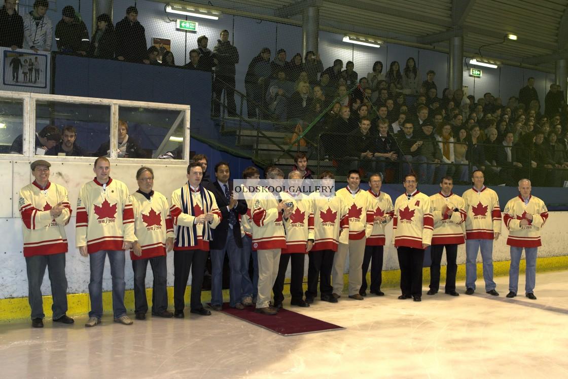 """Varsity Ice Hockey - Oxford Men v Cambridge Men (2010)"" stock image"