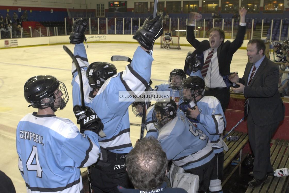 """Varsity Ice Hockey - Cambridge Men v Oxford Men (2011)"" stock image"