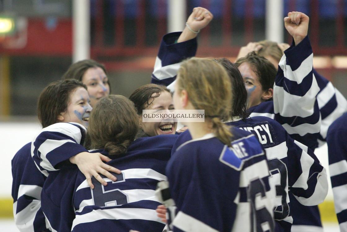 """Varsity Ice Hockey - Cambridge Women v Oxford Women (2011)"" stock image"