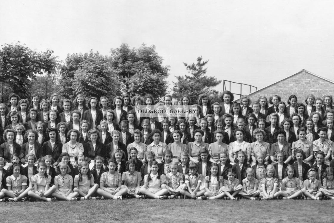 """County School - Peterborough (1946)"" stock image"