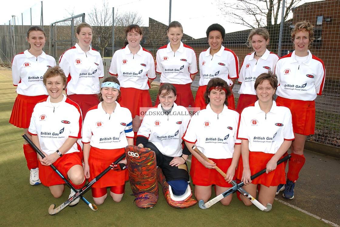 """Peterborough Town Ladies (2002)"" stock image"