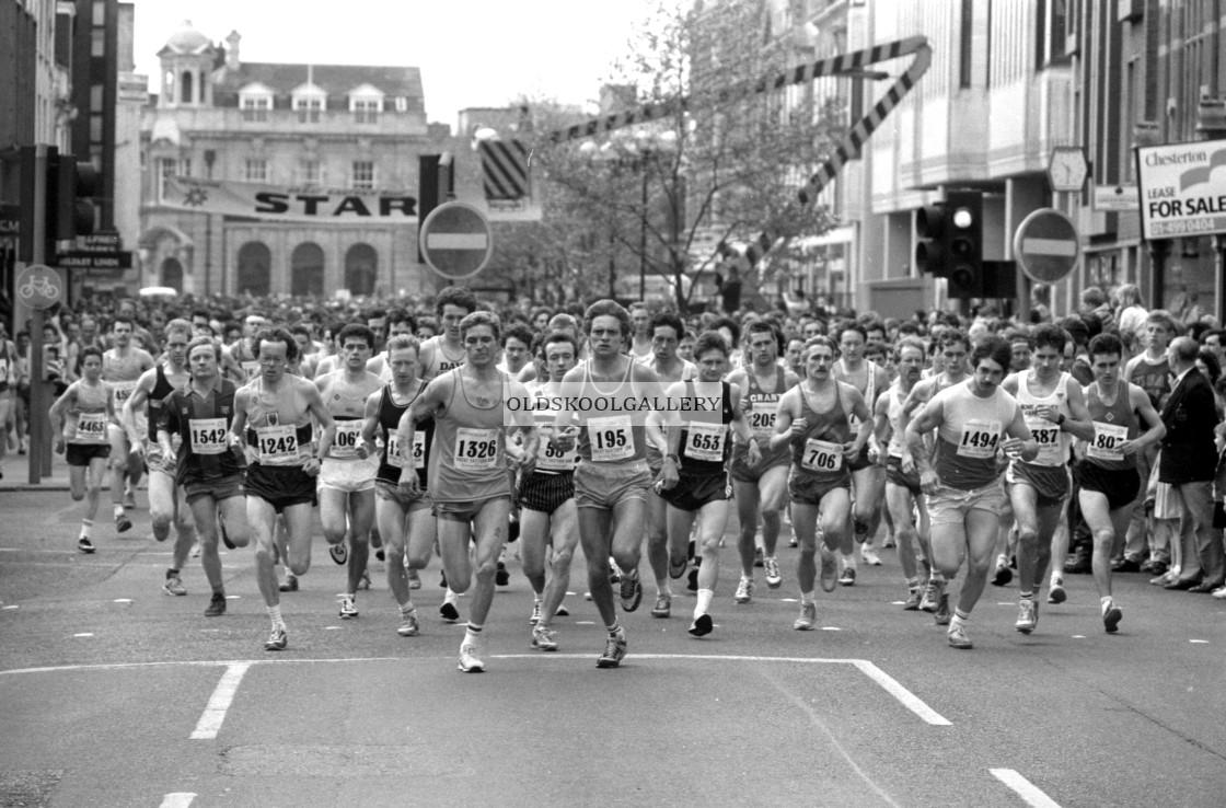 """""""Great Eastern Run (1988)"""" stock image"""