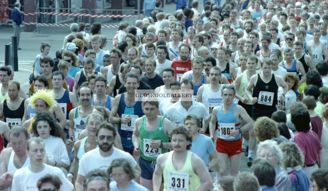 """""""Great Eastern Run (1991)"""" stock image"""