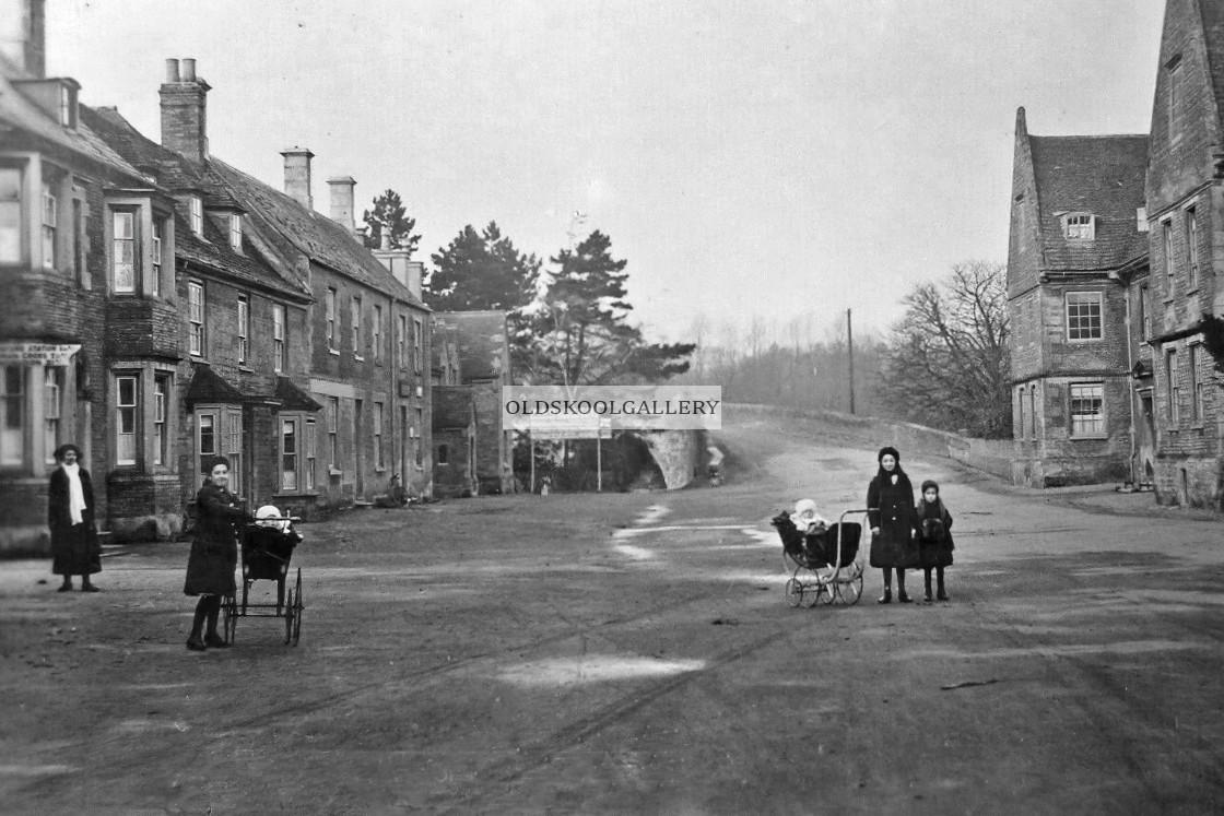 """Wansford Village (1913)"" stock image"