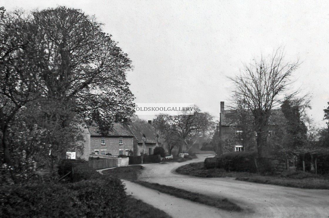 """Glinton - North Fen Road"" stock image"
