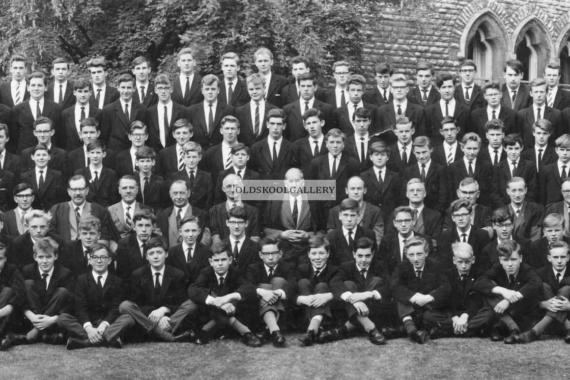 """Stamford School 1962 (C)"" stock image"