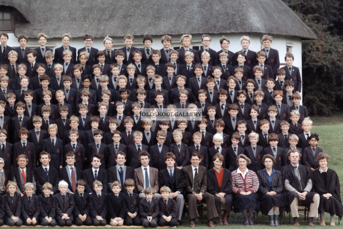 """Stamford Junior School - September 1984 (C)"" stock image"