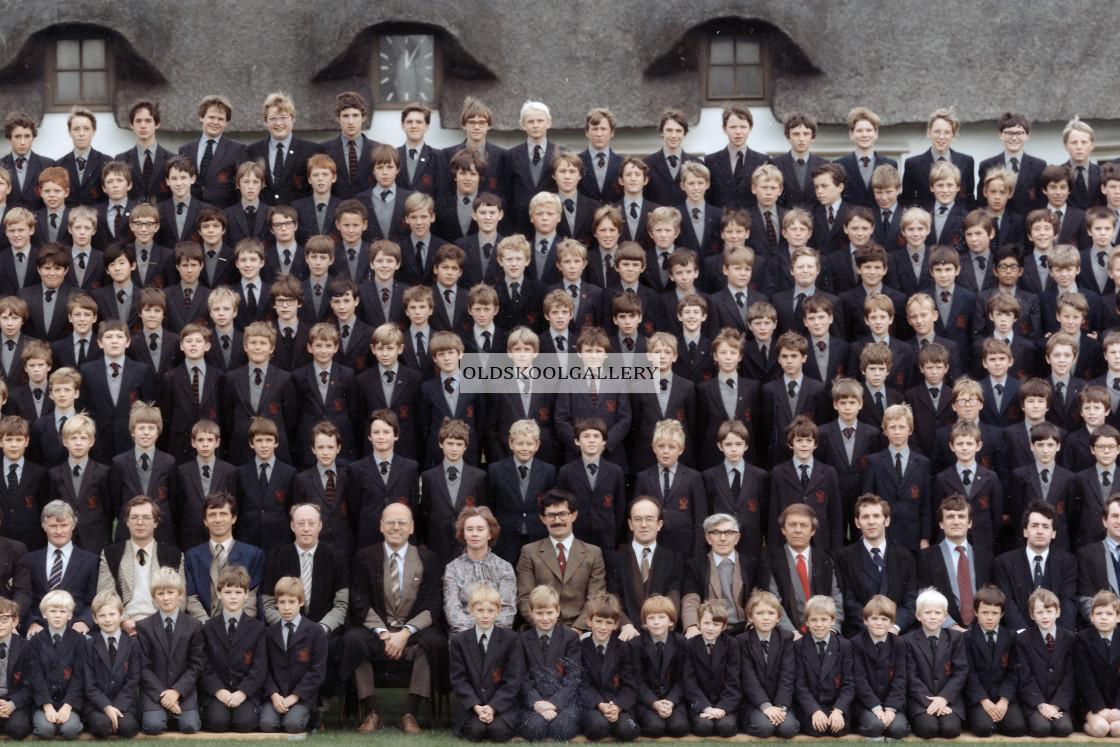 """Stamford Junior School - September 1984 (B)"" stock image"