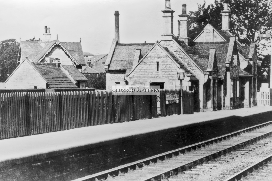 """Helpston Railway Station"" stock image"