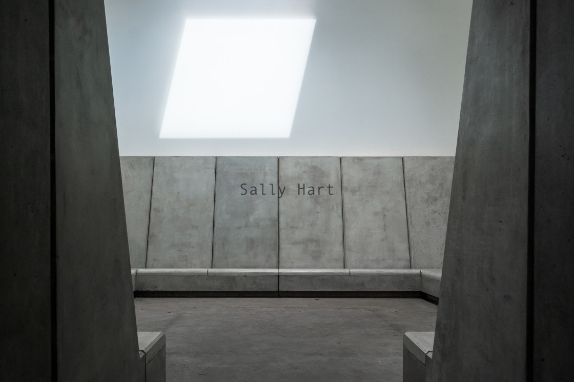 """""""""""Deer Shelter Skyspace"""" by James Turrell"""" stock image"""