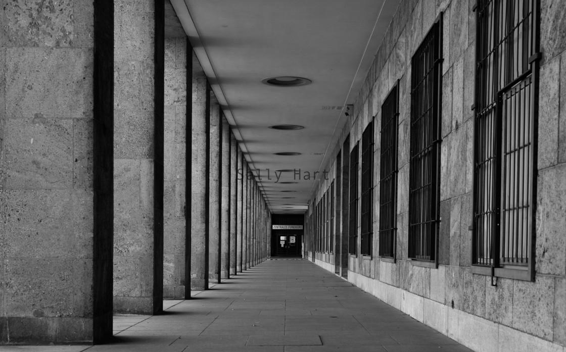 """""""Tempelhof Airport, Berlin"""" stock image"""