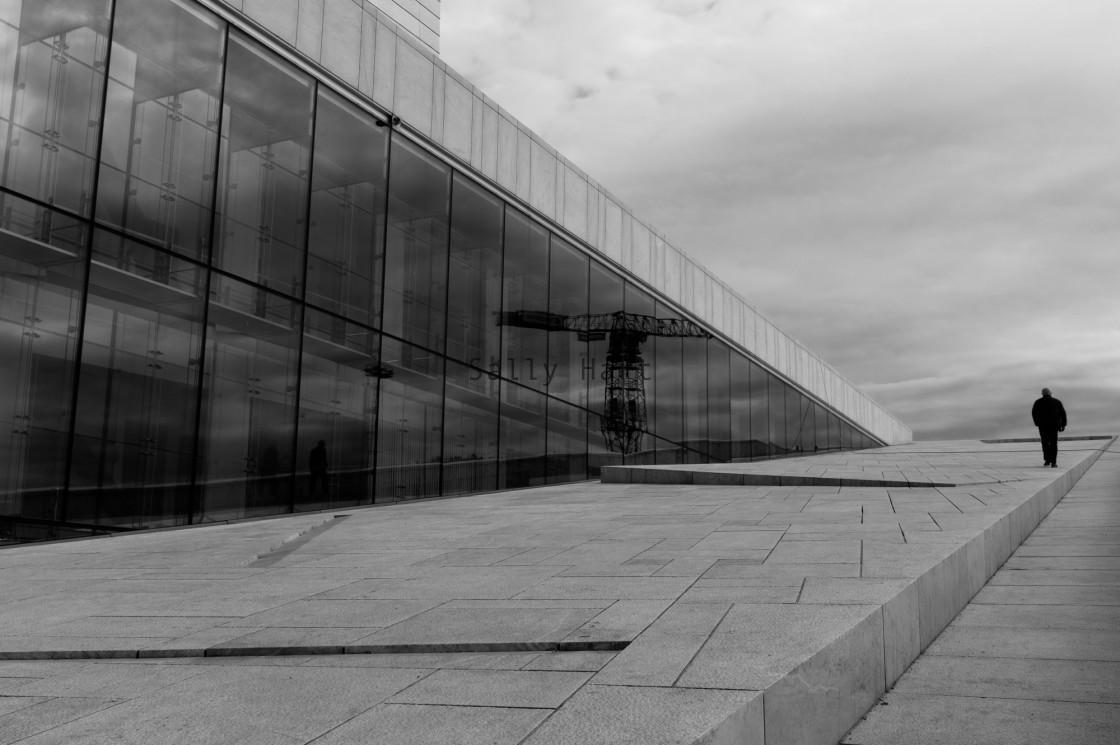 """Oslo Opera House"" stock image"