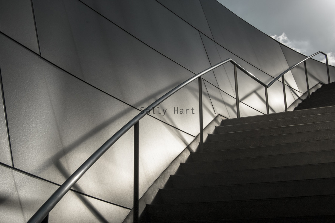 """Walt Disney Concert Hall, LA"" stock image"