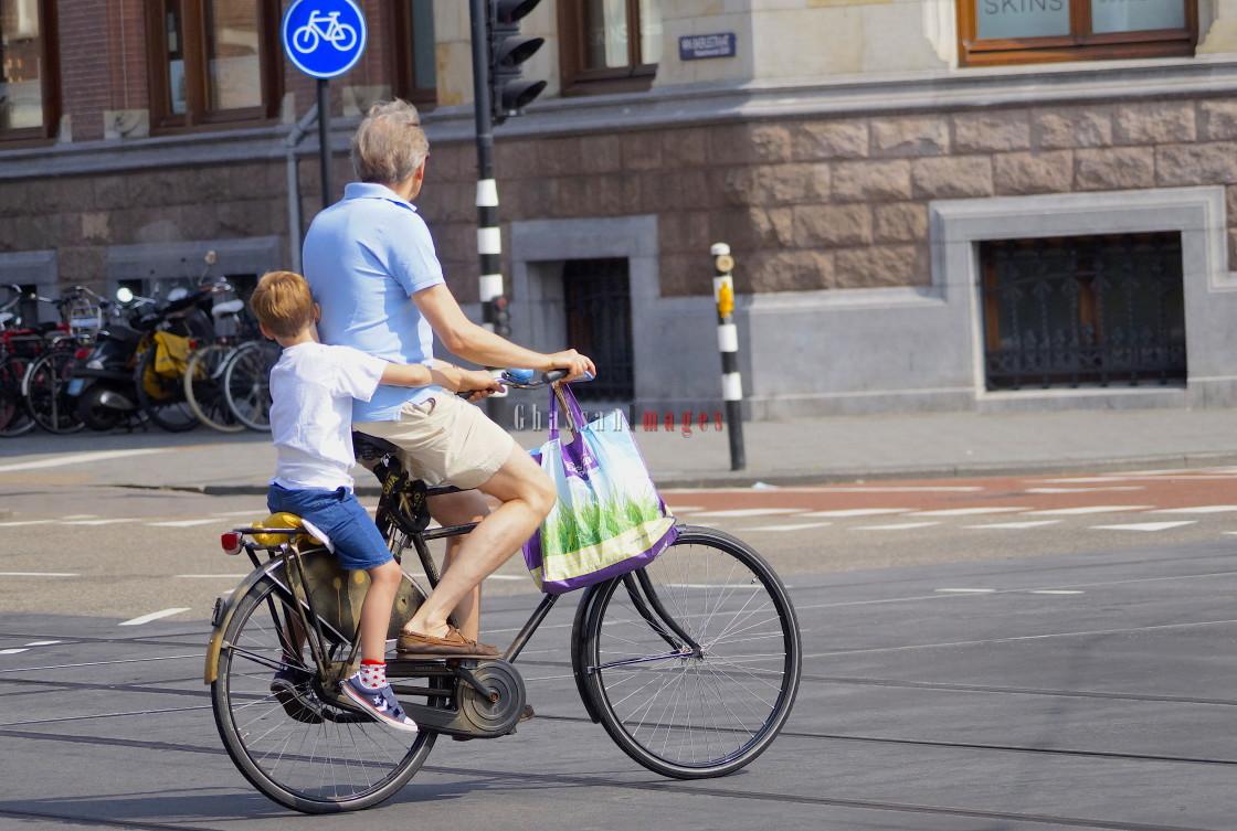"""Amsterdam Summer"" stock image"