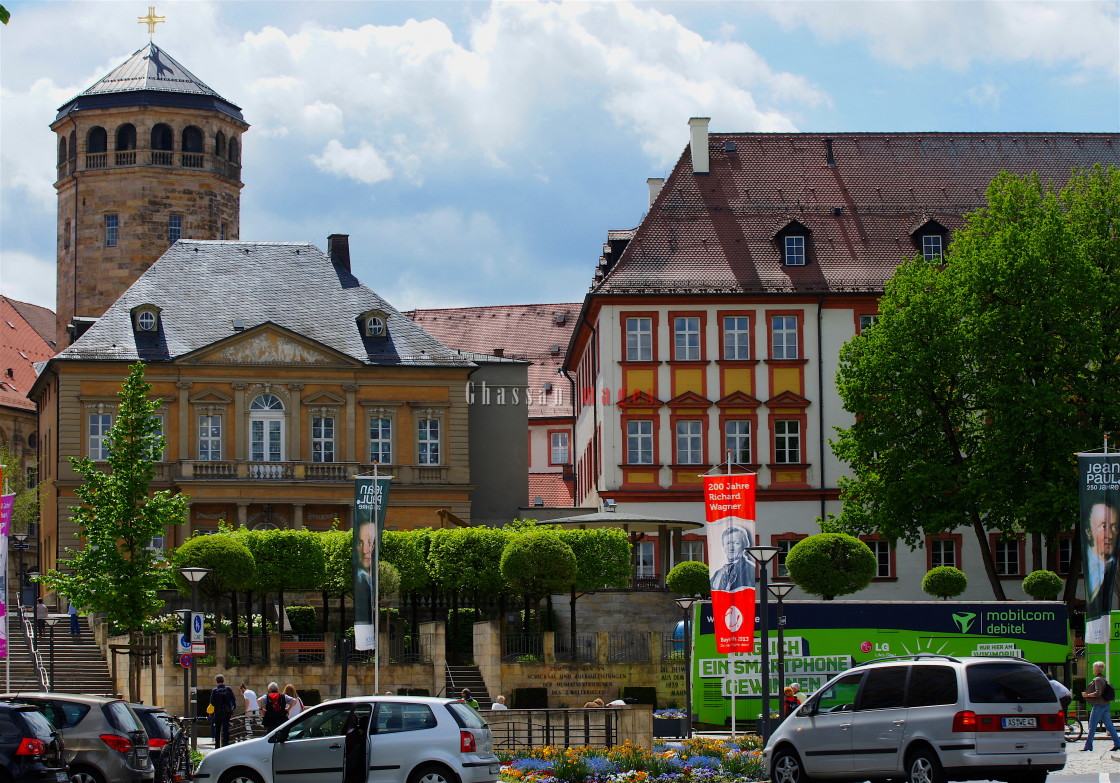 """Bayreuth: Germany's address for historical beauty"" stock image"