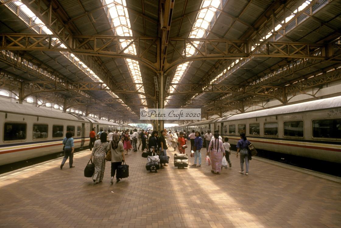 """""""Kuala Lumpur railway station, Malaysia."""" stock image"""