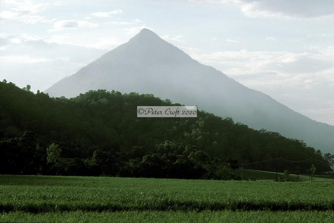 """Mt Bartle Frere, Queensland, Australia"" stock image"